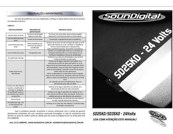 Sound Digital 25k 24 Volts