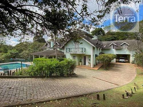 Casa Com 4 Dormitórios À Venda - Fazendinha - Granja Viana - Ca2334