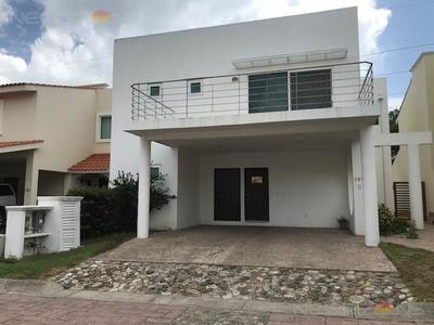 Amplia Y Moderna Casa Amueblada En Renta En Altamira Fracc. Nautico Residencial