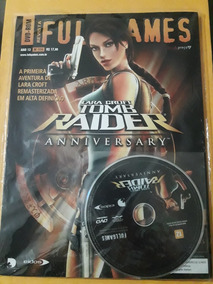 Revista Fullgames Lara Croft Tomb Raider Anniversary + Jogo