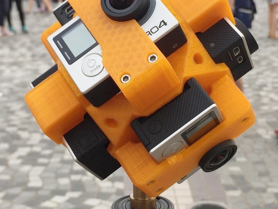 360 Spherical Video Mount For Gopro Hero3/4