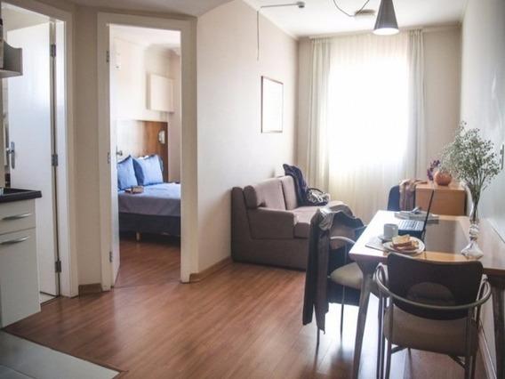 Flat Em Centro, Guaratingueta/sp De 37m² 1 Quartos À Venda Por R$ 140.000,00 - Fl114984