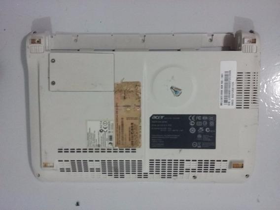 Carcaça Base Inferior P Netbook Acer Aspire One Zg5- Branca