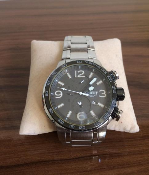 Relógio Orient Cronógrafo Sport Mbssc090 - Aço Inoxidável