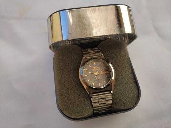 Relógio Orient Masculino Automático, Nunca Usado, Na Caixa, Anos 90