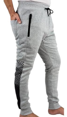 Imagen 1 de 7 de Pantalón Buzo Algodon Hombre. Jogger Slim Fit. Mu
