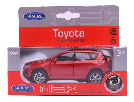 Auto De Coleccion Welly Toyota Rav-4 Escala 1:36