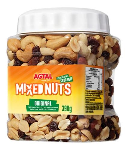 Imagem 1 de 2 de Mix De Nuts Mixed Original Agtal Castanhas Pote 390g