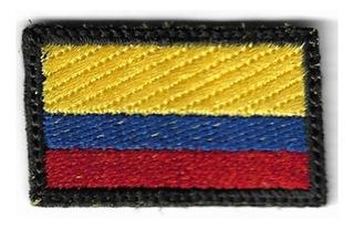 Parches Bordados Banderas 5cmx3cm Mochilero Viaje Morral