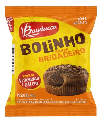 Bolinho De Chocolate Bauducco 40g