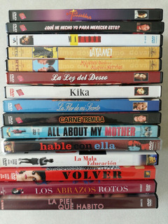 Pack Colección Pedro Almodovar 15 Películas - Dvd Original