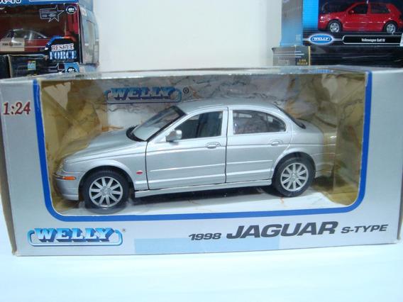 Miniatura Jaguar S-type 1998 1/24 Welly Raríssimo #j34