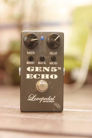 Pedal Lovepedal Gen5 Echo Delay - Delay De Fita De Boutique