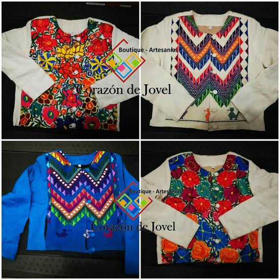 Finas Toreras Bordadas/chamarras/artesanales/sacos- Chiapas