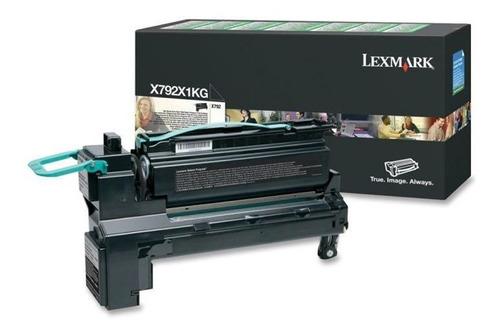 Toner Lexmark X792x1kg Preto 24646