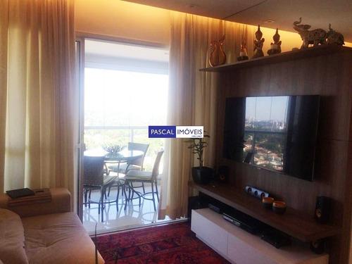 Imagem 1 de 15 de Apartamento 02 Dormitorios 02 Vagas Campo Belo - V-5767