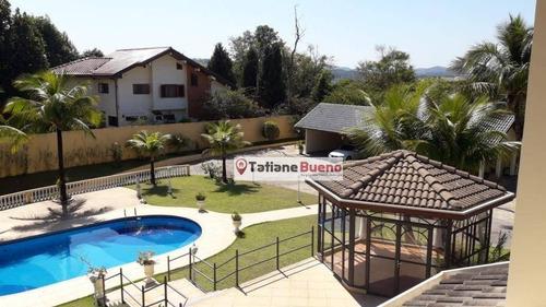 Casa Com 5 Dormitórios À Venda, 600 M² Por R$ 4.000.000,00 - Bosque Dos Eucaliptos - São José Dos Campos/sp - Ca1880
