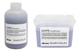 Kit Love Smoothing Shampoo Y Acondicionador Davines