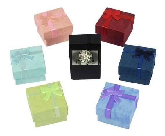 Caixa Pequena Presente Joias Aliancas Brincos 48 Unidades