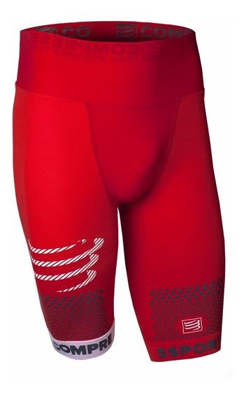 Bermuda Trail Running Compressport Vermelho *promoção*
