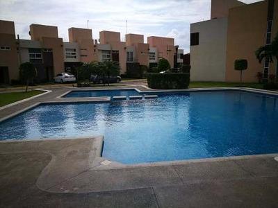 Casa En Cluster Dream Lagoons En Venta, Veracruz, Ver.