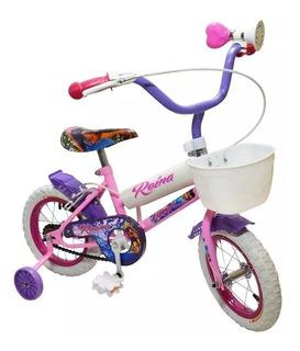 Bicicleta Infantil Rodado 12 Varon Con Guarda Barros