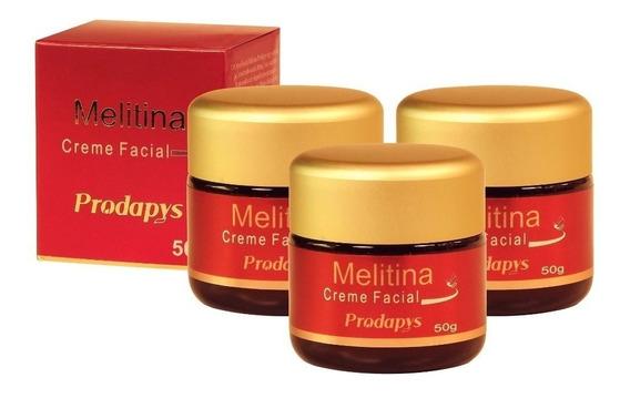 Melitina Creme Facial 50g Original Botox Natural 3 Unidades