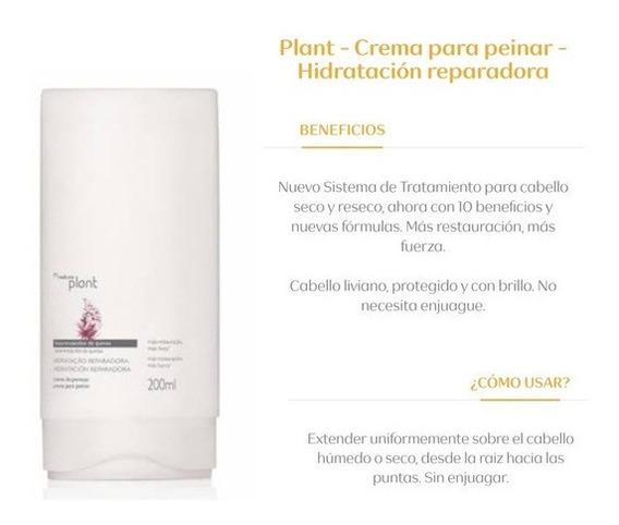 Crema Para Peinar Hidratación Reparadora Plant Natura