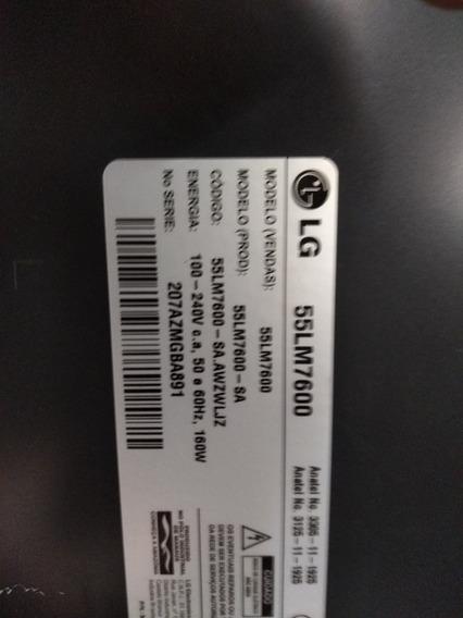 Tv Digital Lg Smart 55lm7600