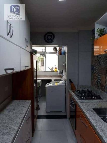 Apartamento Com 3 Dormitórios À Venda, 84 M² Por R$ 800.000,00 - Vila Mariana - São Paulo/sp - Ap10684