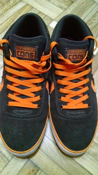 Zapatillas Converse - Chocolate Naranja