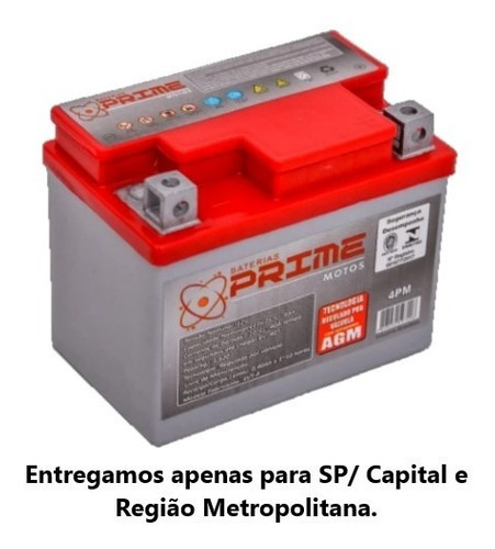 Bateria Prime 4-pm (ref. Ytx 4l-bs) - Biz C100, Cg125