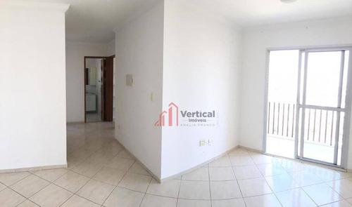 Imagem 1 de 13 de Apartamento Com 2 Dormitórios, 62 M² - Venda Por R$ 400.000,00 Ou Aluguel Por R$ 1.800,00/mês - Jardim Textil - São Paulo/sp - Ap6311
