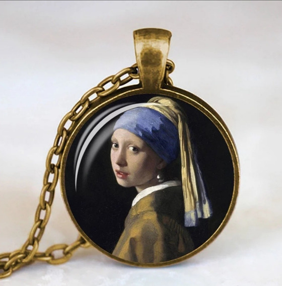 Collar La Joven De La Perla Johannes Vermeer