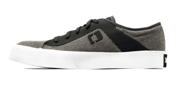 Zapatilla John Foos 182 Bronx All Canvas Grey. D Oficial.