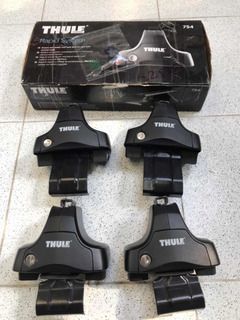 Pies De Anclaje Thule 754 + Kit Ford Fiesta No Incluy Barras