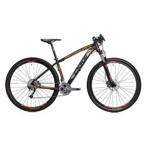 Bicicleta Aro 29 Freios A Disco Hidr 27v Preto/laranja Oggi