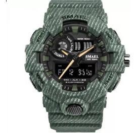 Relógio Militar Esportivo Digital Shock Smael 8001