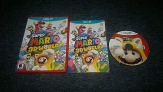 Super Mario 3d World Completo Para Nintendo Wii U