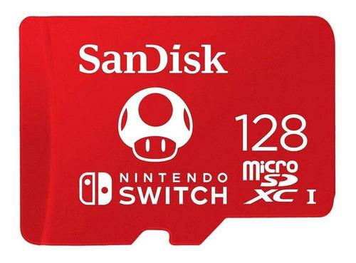 Imagen 1 de 2 de Tarjeta de memoria SanDisk SDSQXAO-128G-GNCZN  Nintendo 128GB