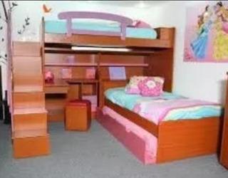 Juego De Dormitorio Triliteras