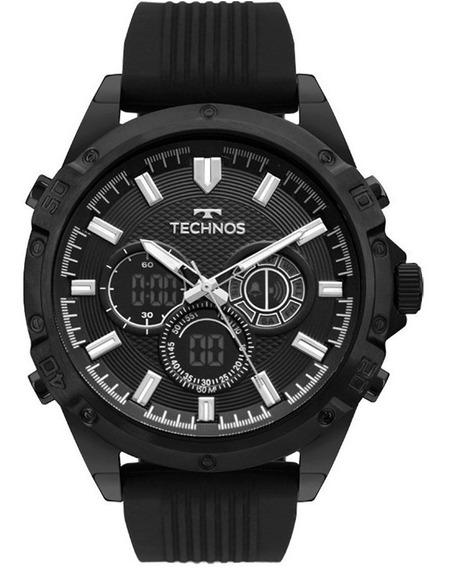 Relogio Technos Masculino Ts Digiana Bj3814ac/8p Silicone