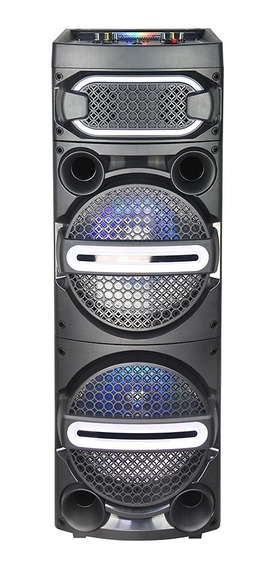 Caixa Som Portátil 1000 Rms Bluetooth Spider 2 C/ Microfone