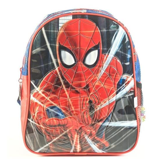Mochila Nene Jardin Spiderman 12¨ Hombre Araña