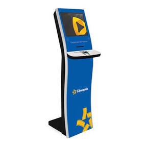 Terminal Auto Atendimento Videosoft Touchscreen Pinpad