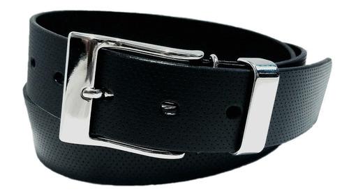 Imagen 1 de 10 de Cinturon De Vestir Piel Recuperado Varios Colores