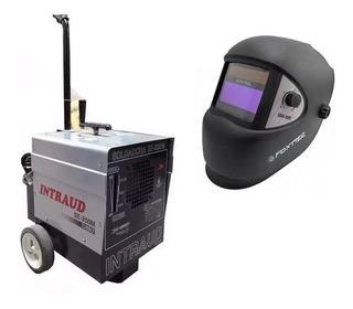 Soldadora Intraud 200 Turbo + Mascara Fotosensible Fotosensible Por Mercado Pago Con Ahora 12 / 18 Cuotas Fijas