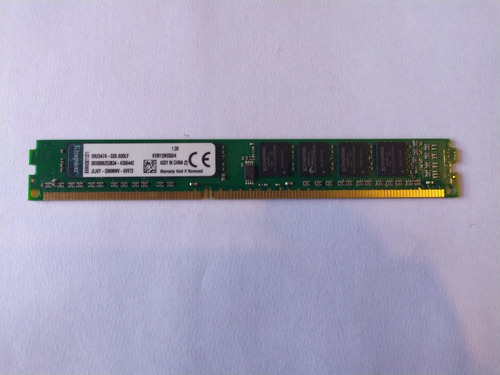 Memoria Ram 1x4gb 666mhz Ddr3 Kingstone