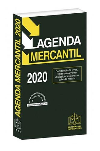 Agenda Mercantil 2020 Isef