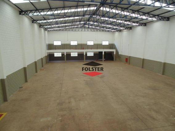 Galpão À Venda Ou Locação, 980 M² Por R$ 1.600.000 - Parque Industrial Bandeirantes - Santa Bárbara D